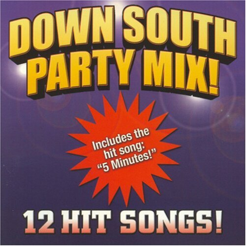 Down South Party Mix Down South Party Mix Sticker Ford Perkins Mr. Zay Charles
