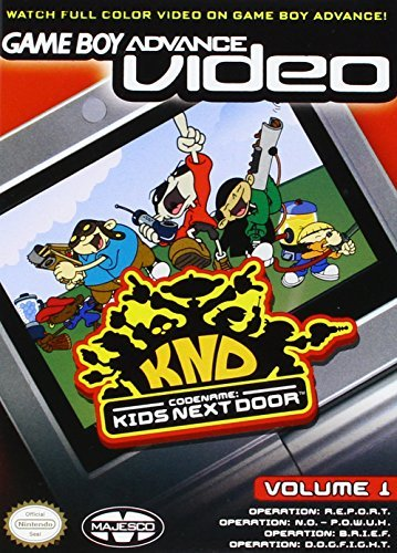 Gba Codename Kids Next Door Vol. 1