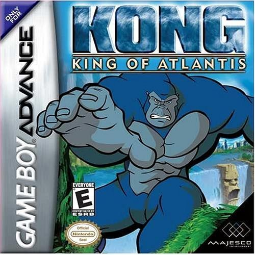 Gba Kong King Of Atlantis Majesco B