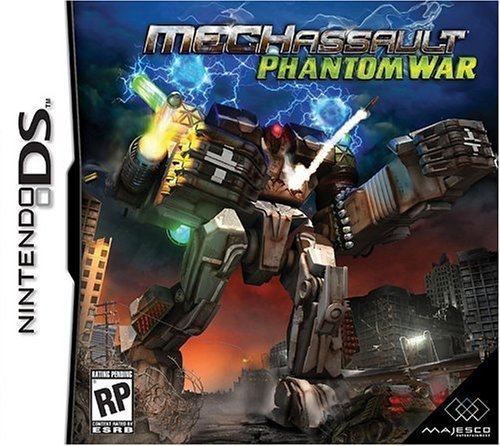 Nintendo Ds Mech Assault Phantom War
