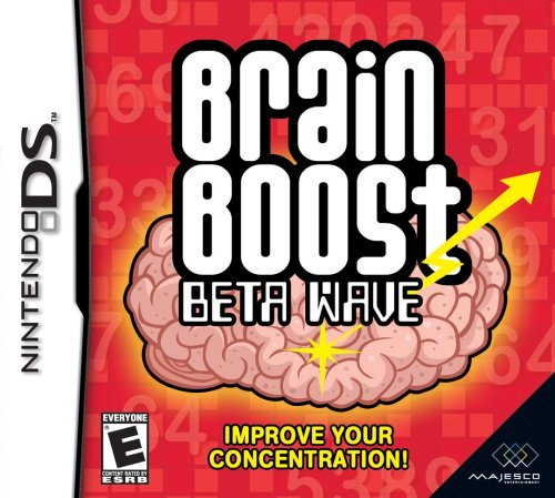 Nintendo Ds Brain Boost Beta Wave Majesco Sales Inc.
