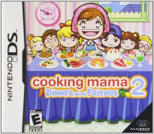 Nintendo Ds Cooking Mama 2 Dinner With Friends