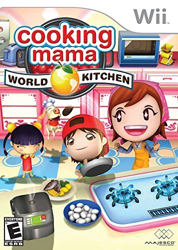 Wii Cooking Mama World Kitchen Majesco Sales Inc. E