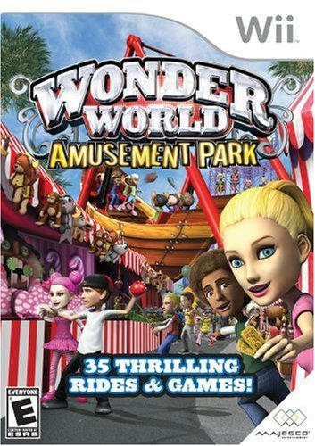 Wii Wonderworld Amusement Park E