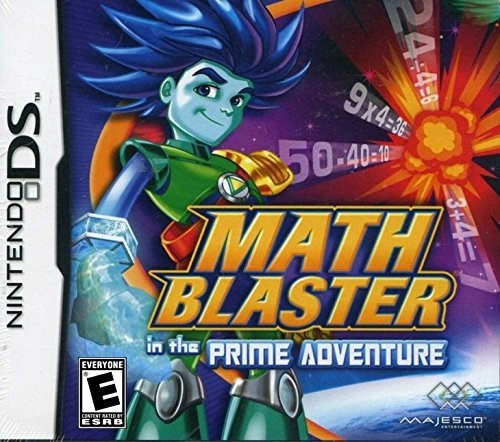Nintendo Ds Math Blaster Prime Adventure Majesco Sales Inc. E