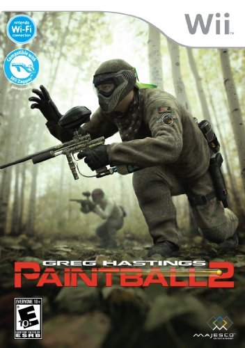 Wii Greg Hastings Paintball 2 Majesco Sales Inc. E10+