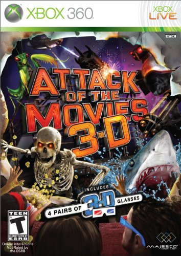 X360 Attack Of The Movies 3d