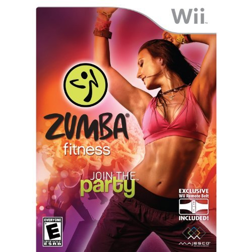 Wii Zumba Fitness Majesco Sales Inc. E