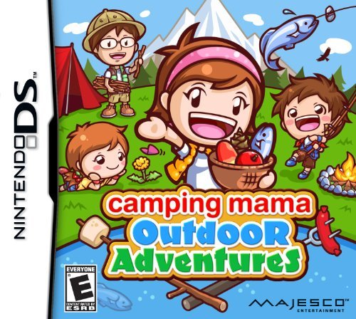 Nintendo Ds Camping Mama Outdoor Adventure