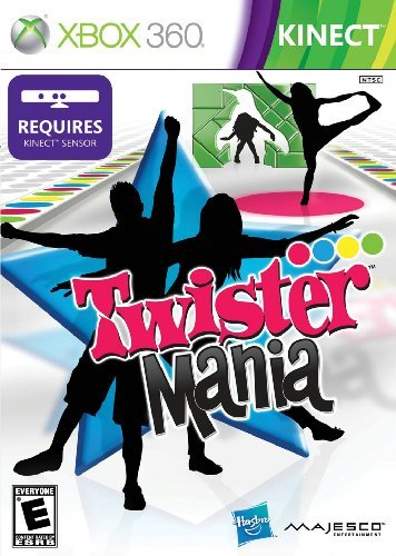 Xbox 360 Kinect Twister Mania Majesco Sales Inc. E