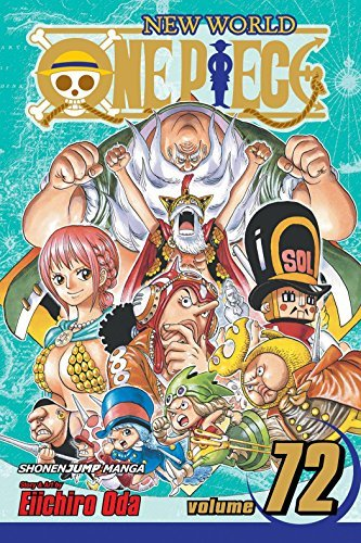 Eiichiro Oda One Piece Volume 72