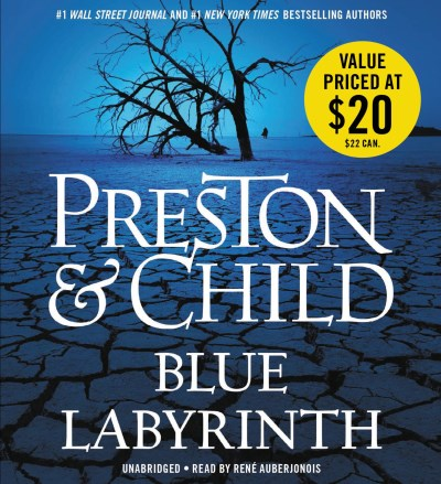Douglas Preston Blue Labyrinth