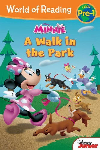 Disney Book Group World Of Reading Minnie A Walk In The Park Level Pre 1