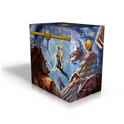Rick Riordan The Heroes Of Olympus Hardcover Boxed Set