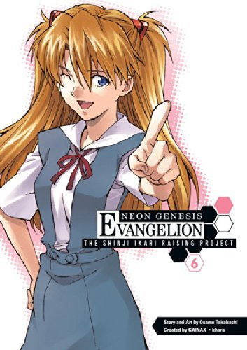 Osamu Takahashi Neon Genesis Evangelion Volume 6 The Shinji Ikari Raising Project
