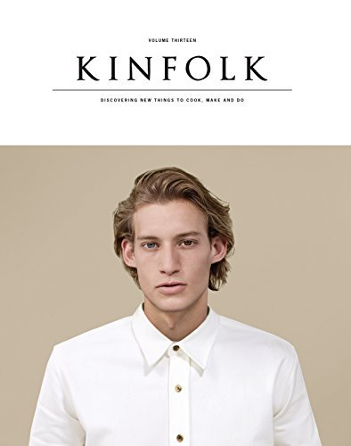 Various Kinfolk Volume 13 The Imperfect Issue