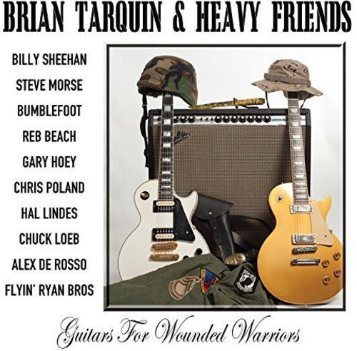 Brian Heavy Friends Tarquin Guitars For Wounded Warriors