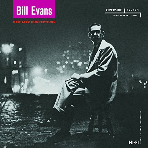 Bill Evans New Jazz Conceptions Lp