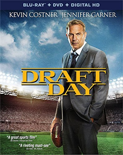 Draft Day Costner Garner Blu Ray DVD Dc R