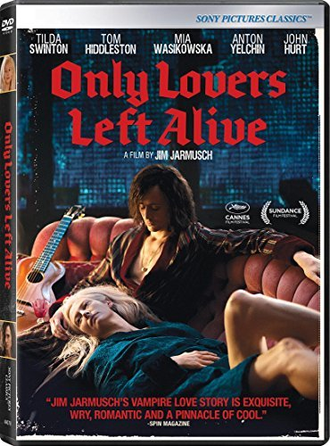 Only Lovers Left Alive Swinton Hiddleston Wasikowska DVD R