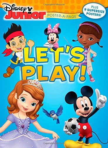 Disney Disney Junior Let's Play! Poster A Page