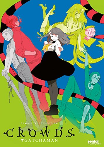 Gatchaman Crowds Complete Col Gatchaman Crowds Complete Col