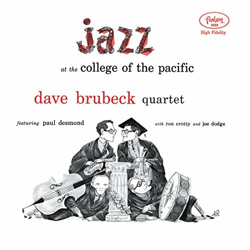 Dave Brubeck Quartet Jazz At The College Of The Pacific Lp