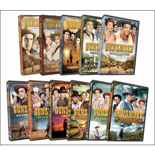 Gunsmoke Seasons 6 10 DVD