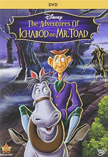 Adventures Of Ichabod & Mr Toad Disney DVD G
