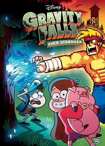 Gravity Falls Even Stranger DVD