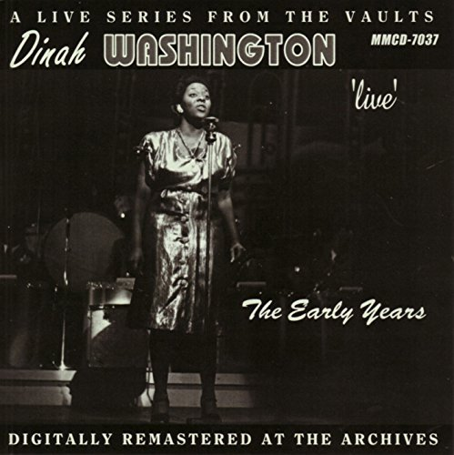 Dinah Washington Live The Early Years