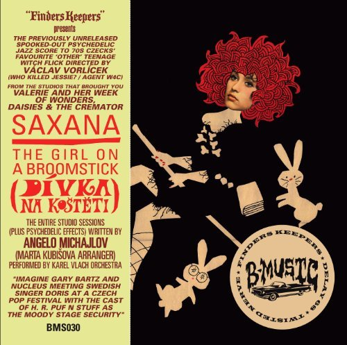 Various Artists Saxana The Girl On A Broomstic