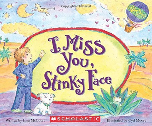 Lisa Mccourt I Miss You Stinky Face (board Book)
