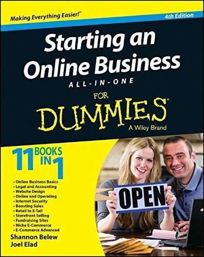 Shannon Belew Starting An Online Business All In One For Dummies 0004 Edition;revised