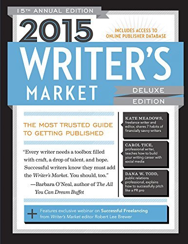 Robert Lee Brewer Writer's Market 0015 Edition;2015 Deluxe