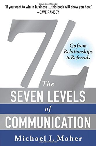 Michael J. Maher 7l The Seven Levels Of Communication Go From Relati