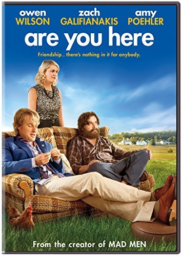 Are You Here Wilson Galifianakis Poehler DVD R