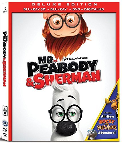 Mr Peabody & Sherman Mr Peabody & Sherman 3d Blu Ray DVD Dc Pg