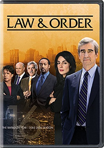 Law & Order Season 16 DVD