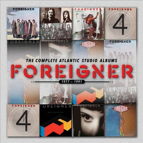 Foreigner Complete Atlantic Albums 1977