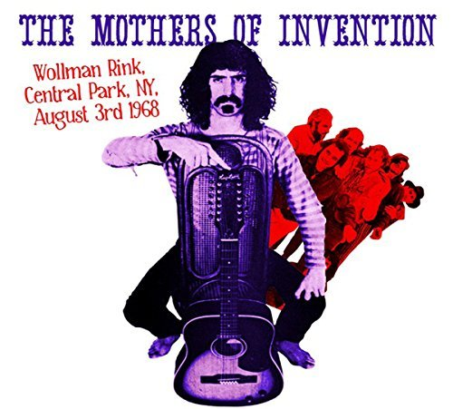 Frank Zappa & The Mothers Of Invention Wollman Rink Central Park Ny 8 3 68 2lp