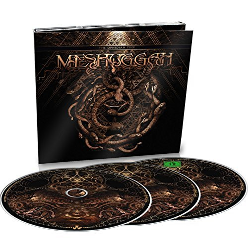 Meshuggah Ophidian Trek Blu Ray CD