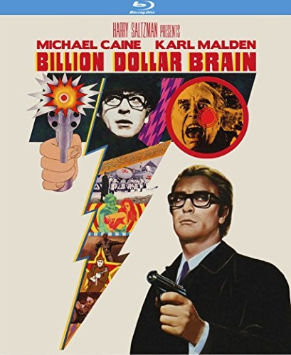 Billion Dollar Brain Caine Malden Blu Ray Nr