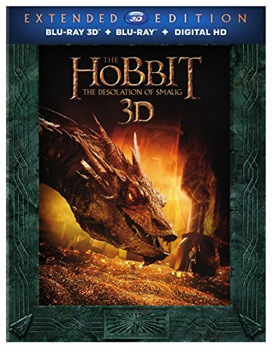 Hobbit The Desolation Of Smaug Mckellen Freeman Armitage Extended Cut 3d Blu Ray Dc R