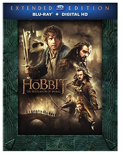 Hobbit Desolation Of Smaug Mckellen Freeman Armitage Extended Cut Blu Ray Dc R