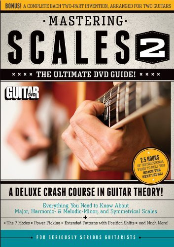 Jimmy Brown Guitar World Mastering Scales Vol 2 The Ultimate DVD Guide! A Deluxe Crash Course In