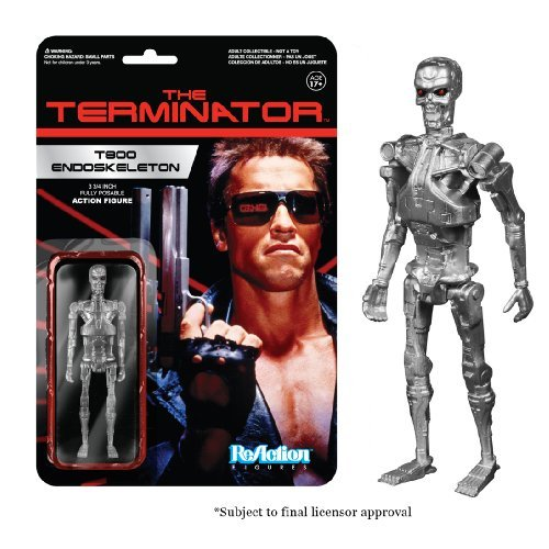 Toy Reaction Terminator T800 Endoskeleton