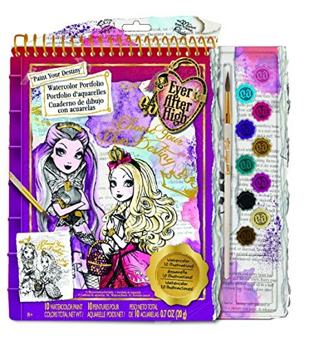 Toy Ever After High Watercolor Portfolio