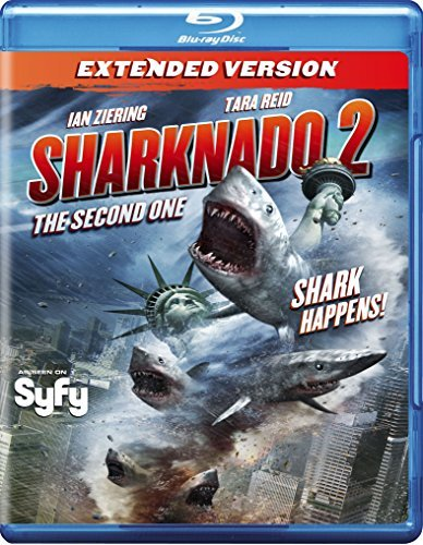 Sharknado 2 The Second One Ziering Reid Fox Blu Ray Nr