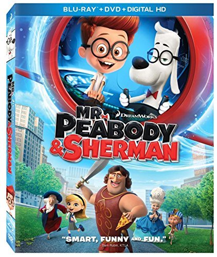 Mr Peabody & Sherman Mr Peabody & Sherman Blu Ray DVD Dc Pg